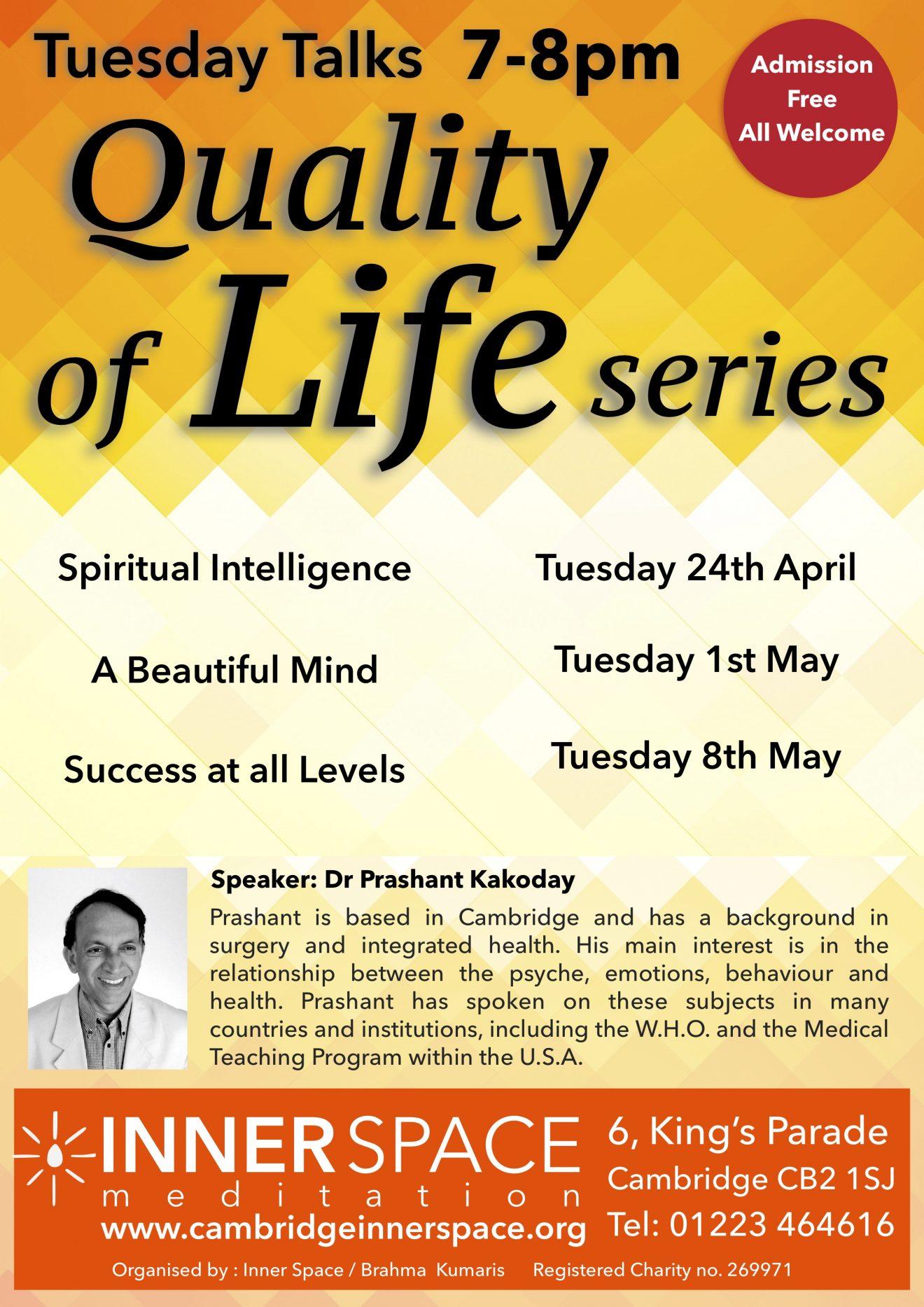 Tuesday talks_Quality series
