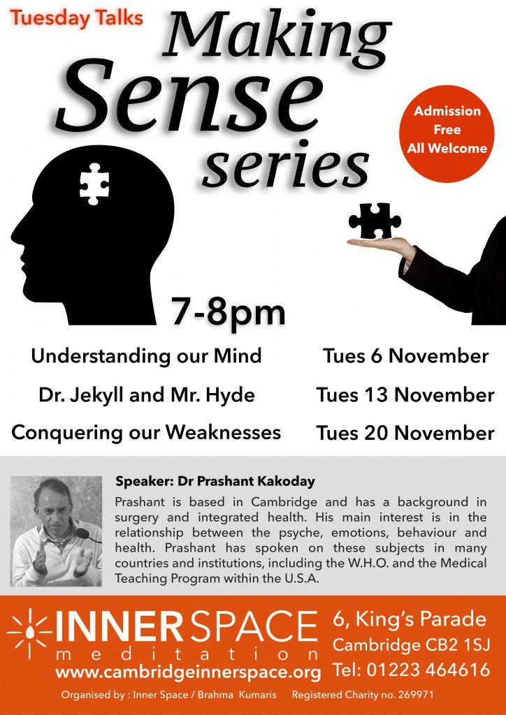 Tuesday talks_making sense series